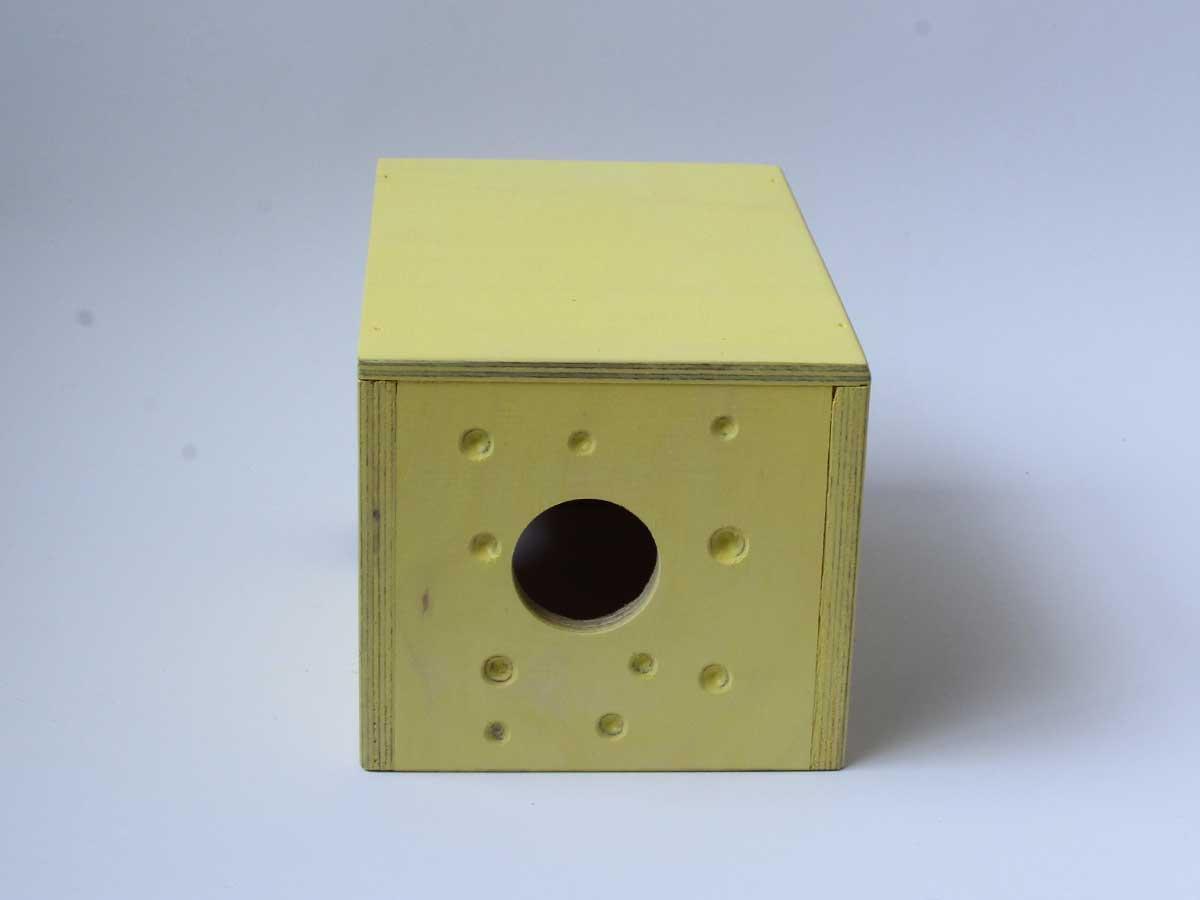 Hiiren juustomökki sopii myös gerbiilille.